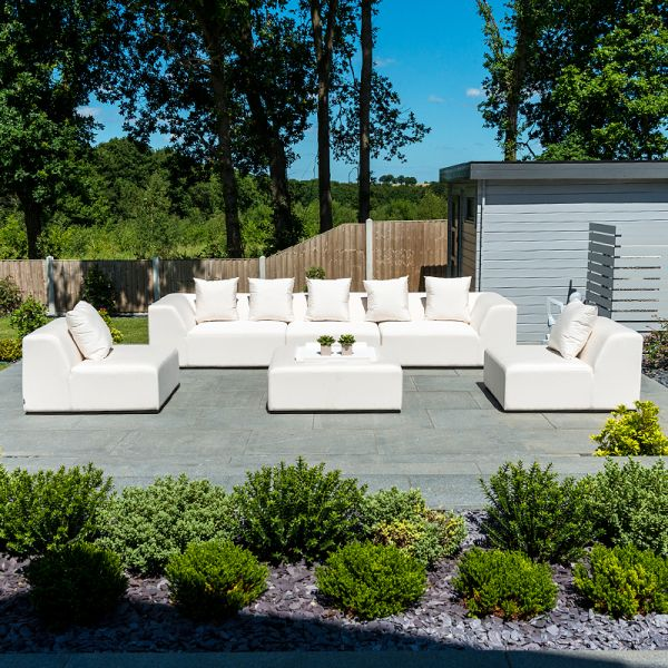 relaxing space in your garden