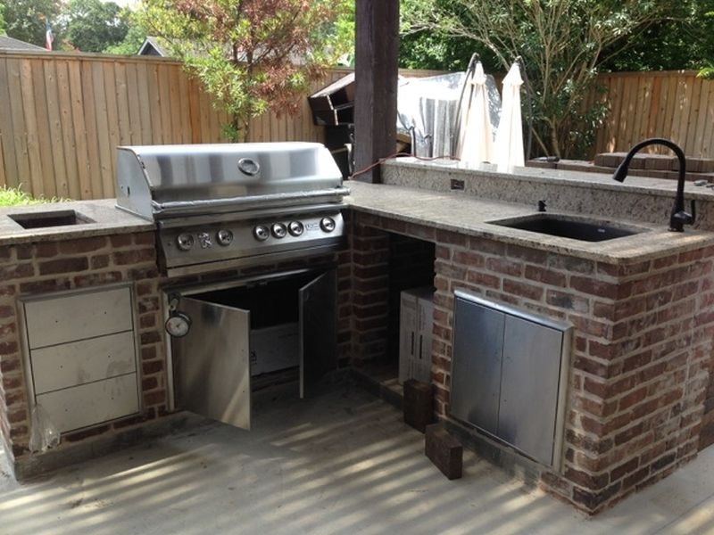 Patio kitchen