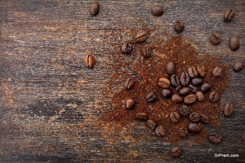 USING INSTANT COFFEE