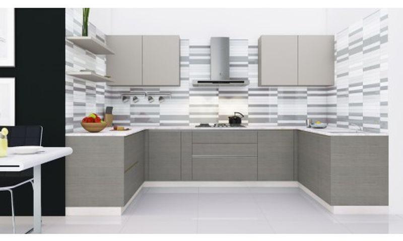 U-shape-kitchen-Monochrome