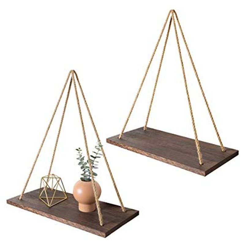 rope shelf for your bedroom