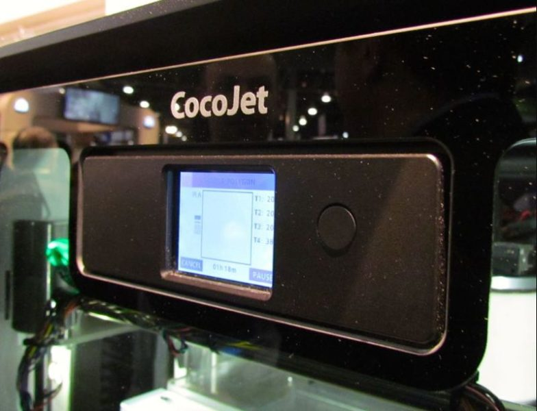 Cocojet – the chocolate printer