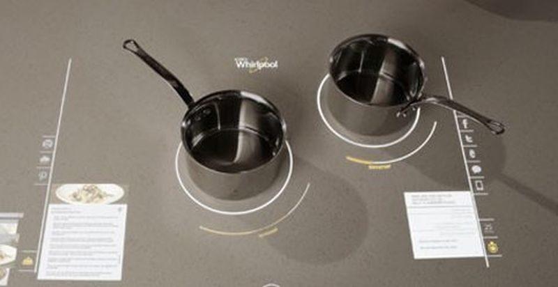Interactive cooktops