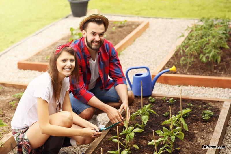 A Herbal Garden