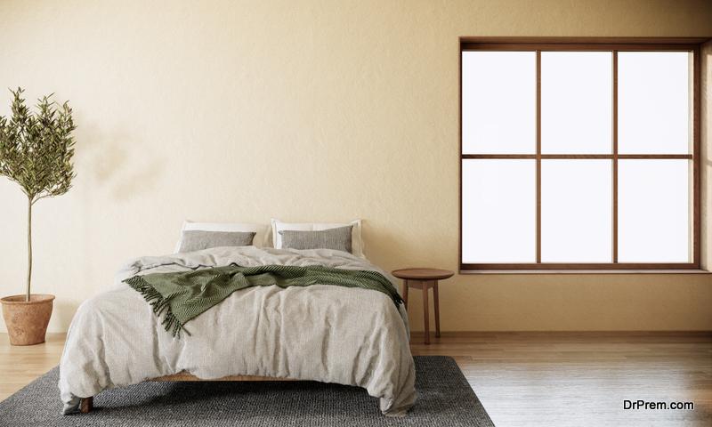 color scheme of bedroom
