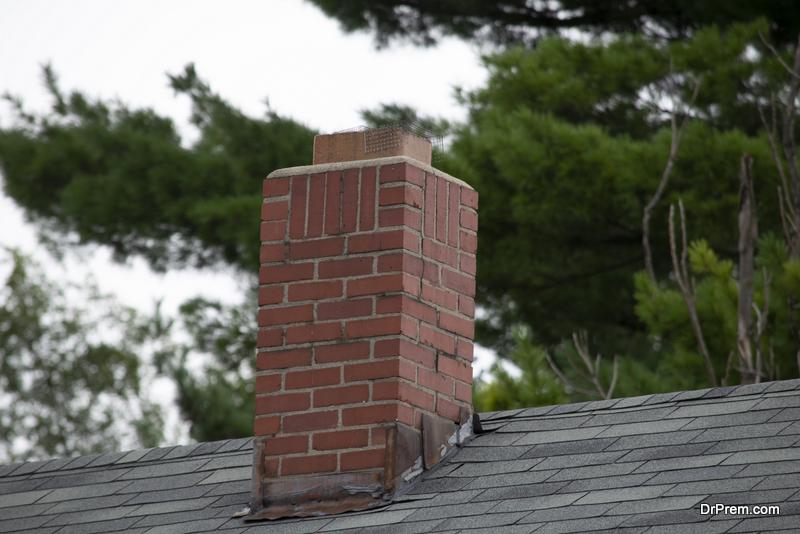 home's chimney