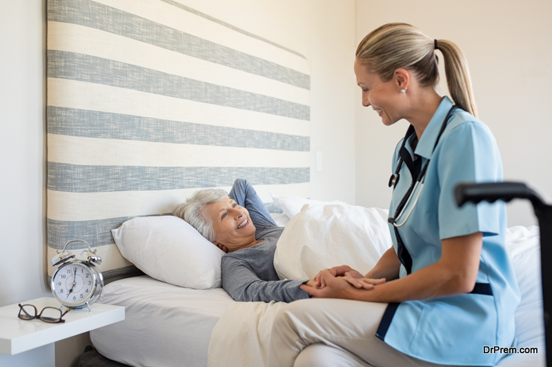 Move Your Elderly Relative into a Care Home